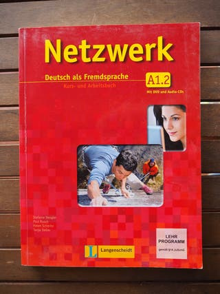 Libro Netzwerk A1.2 Kurs- und Arbeitsbuch