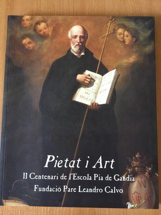 Pietat i Art libro de Arte antiguo Museo de Gandia