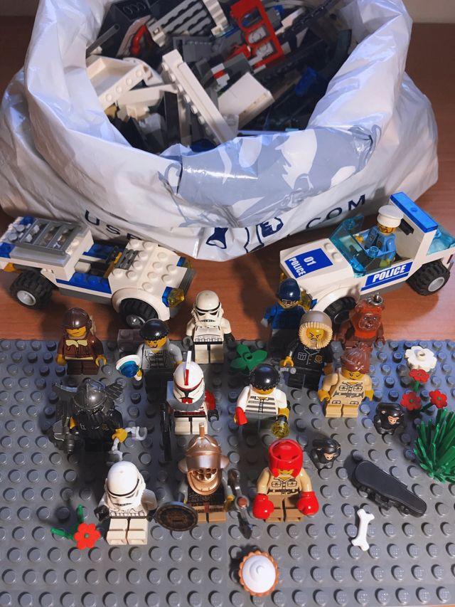 Lego Comisar U00eda Polic U00eda   Lego Minifigures De Segunda Mano