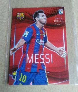Messi card /cromo.