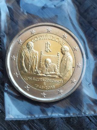 Moneda 2€ Italia 2018 - Italia 2018