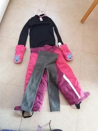 lote ropa para nieve