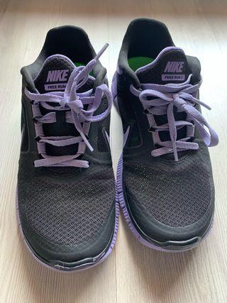 Zapatillas bambas Nike free run 5.0