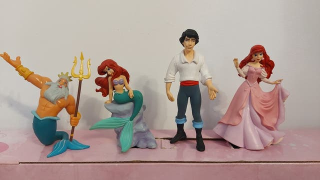 la sirenita Ariel Disney