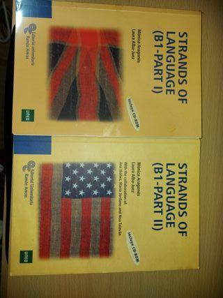 2 Libros de Inglés con CD