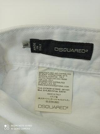 pantalón Dsquared talla 48 nuevo