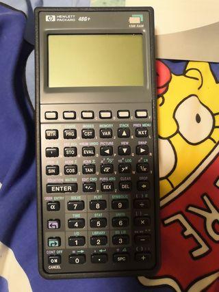 Calculadora científica HP48G+