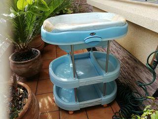 Bañera cambiador de bebé