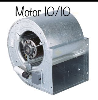 Extractor 10/10 motor campana HOSTELERIA
