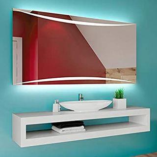 FORAM Espejo de Baño con Iluminación LED - Luz Esp