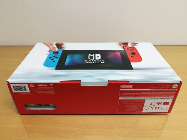Nintendo Switch (Never Used)