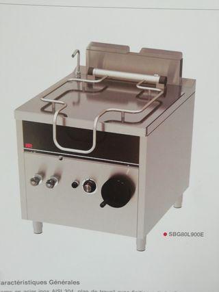 sartén basculante 80 litros de gas