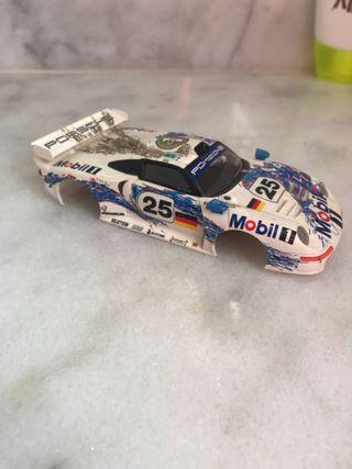 Carrocería coche scalextric Porsche