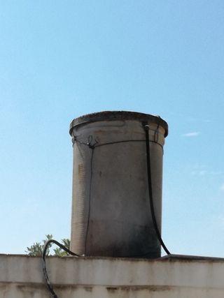 depósito de fibra para agua potable