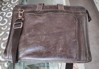 Maletín piel Swissbags