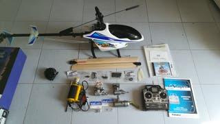 helicoptero rc glow caliber 30