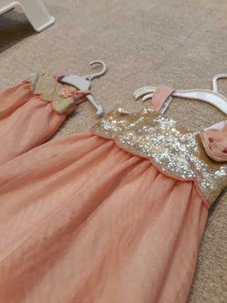 Vestido niña y vestido muñeca iguales