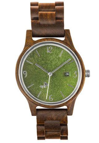 Reloj diseño alemán en madera de sándalo