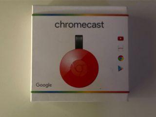 Chromecast 3 generación Rojo