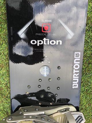 Vendo tabla Snowboard Option 120€