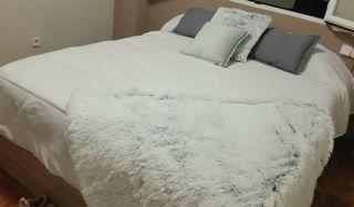 cama madera con 4 cajones