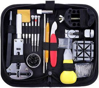 Zacro 151 Pcs Kit de Reparación de Relojes, con He