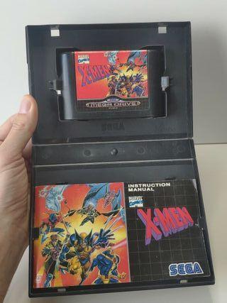 juego x-men de sega mega Drive