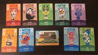 Cartas Amiibos Animal Crossing