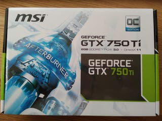 MSi GeForce GTX 750 Ti 2Gb GDDR5