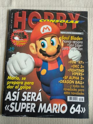 Revista hobby consolas Número 63 Super Mario Bros.