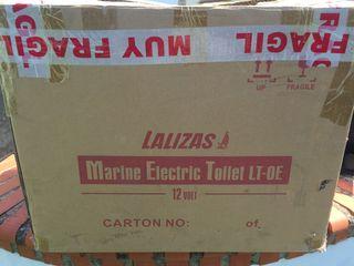 Potty wc eléctrico 12v para camper o barco
