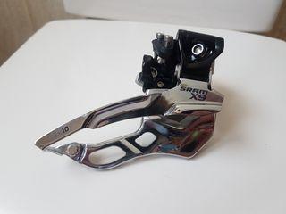 desviador sram x9 2x10v tiro dual