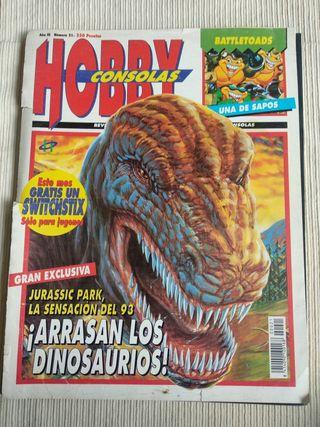 Revista Hobby Consolas número 21.