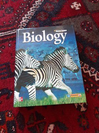 libro de biología en inglés