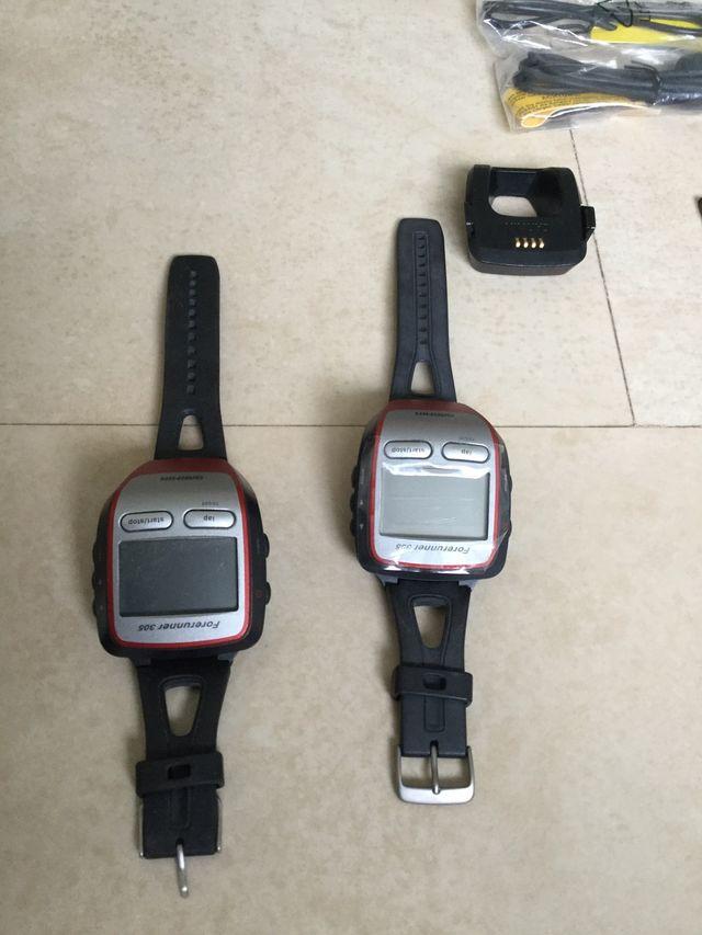 Lote GARMIN FORERUNNER 305 GPS reloj deportivo