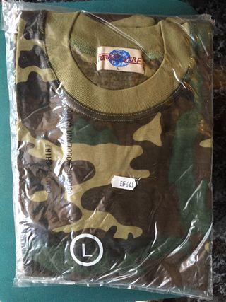 Camiseta manga corta de caza