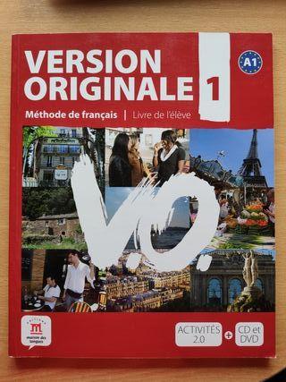 Libro de francés Version Originale A1