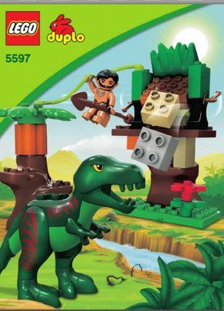 lego duplo dinosaurio 5597