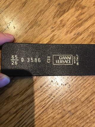 Cinturón Gianni Versace