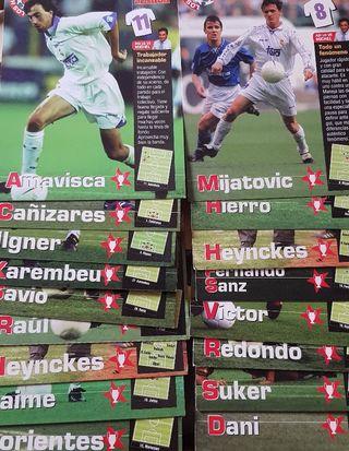 Cromos Postales Real Madrid