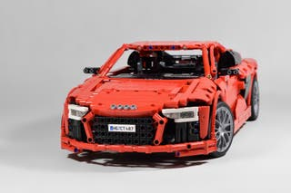 Technic MOC-4463 Audi R8 V10 - 1:10 - 42056 42083