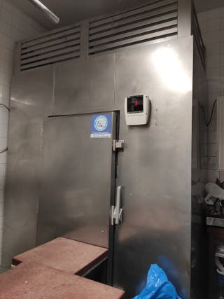 Cámara frigorífica en acero inoxidable (2x1x2,5)m