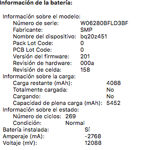 Apple MacBook Pro 2011 de 13 pulgadas