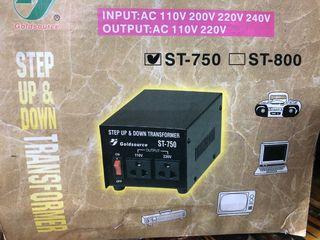 Convertidor 110 a 220V y 220 a 110V