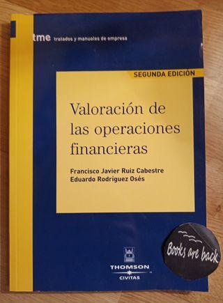 Valoración de las operaciones financieras