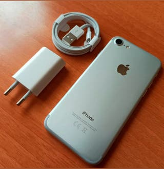 iPhone 7 plata 32GB LIBRE excelente estado