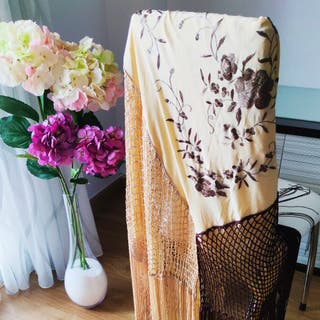 Mantón Flamenco Para Mujer