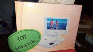 reproductor DVD con TDT portátil NUEVO