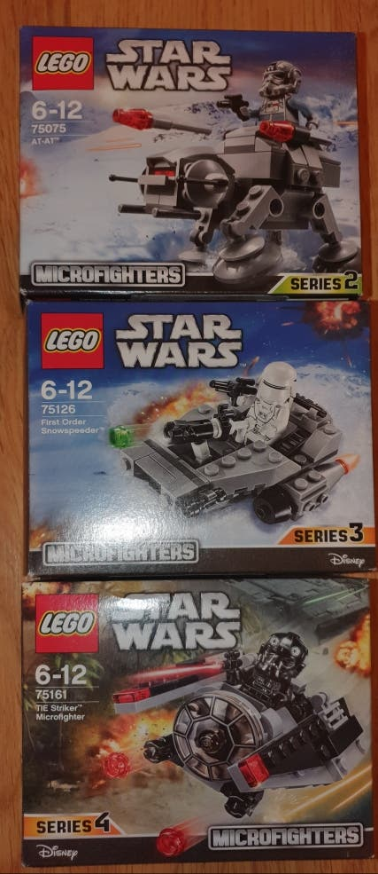 Lego Star Wars Microfighters. 3 und 20€
