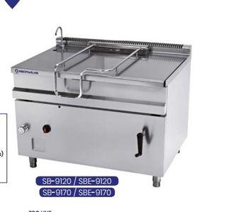 Sarten basculante Gas SB9120